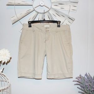 Maurice's Beige Mid Rise Shorts Size 11/12 Juniors